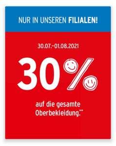 Ernstings Family - 30% auf Oberbekleidung