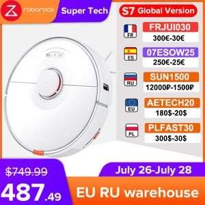 Roborock S7 (Weiß/Schwarz) EU-Warehouse mit Steuern [Dollarzahlung]