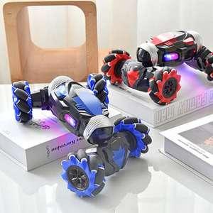 RC Stunt Car Twist (2020, Kinder) Auto mit Uhr, Induktion, Gestensteuerung, Verformung