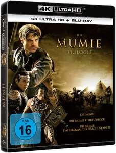 (Amazon) Die Mumie - Trilogie (4K Ultra HD) [Blu-ray]