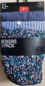 [H&M] Boxershorts 100% Baumwolle