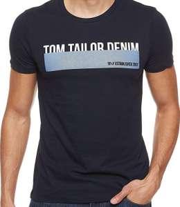 TOM TAILOR DENIM Herren Logo-print T-Shirt bei Amazon Prime