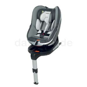 Foppapedretti Uniko I-Size Autositz für Kinder 40 bis 95cm (bis 18 kg), Schwarz ISOFIX
