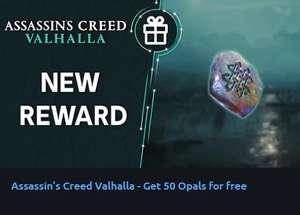 50 Opale Kostenlos für Assassin's Creed Valhalla (PC & Konsolen)