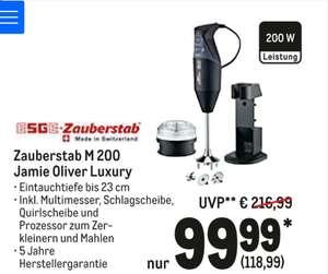 ESGE-Zauberstab M200 Jamie Oliver Luxury Stabmixer, 20% unter Bestpreis laut Idealo