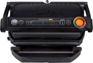 Tefal GC7128 Optigrill+ Kontaktgrill mit 4 manuellen Temperaturstufen (2000W, spülmaschinengeeignet, 6 Programme, Zubehör-kompatibel)