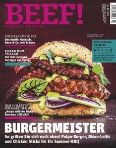 BEEF Magazin Abo (6 Ausgaben) durch Rabatt für 40,40 €