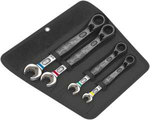 Wera Joker Switch Ringratschenschlüssel, 4-teilig, metrisch
