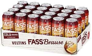 [Spar-Abo] VELTINS Fassbrause Cola-Orange Alkoholfrei Biermischgetränk (1 x 24 x 0.5 l)