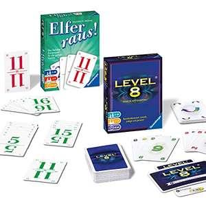 Ravensburger Spiele - Elfer Raus + Level 8 Kartenspiel Set für 9,49€ (Amazon Prime)