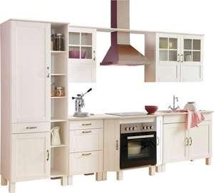 Home affaire Küchen-Set »Alby«, ohne E-Geräte, Breite 325 cm, aus massiver Kiefer [Preisfehler]