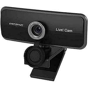 Creative Live! Cam Sync 1080p Full-HD-Weitwinkel-USB-Webcam mit integriertem Dual-Mikrofon