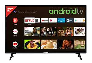 [Amazon] Telefunken XH32AJ600 32 Zoll Fernseher / Android TV (HD ready, Triple-Tuner, Smart TV, Bluetooth) [Modelljahr 2021]