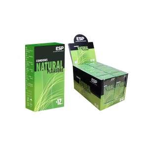 144 Kondome Natural Pleasure vegan fairer Latex