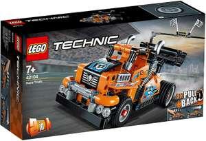 LEGO Technic - 2 in 1 Renn-Truck (42104) für 14,94€ inkl. Versand (Schütte)