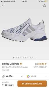 Adidas Orginals EQT Gazelle für 33€ statt 109,95€