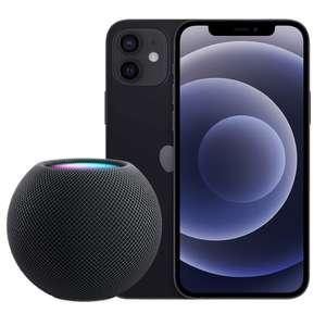 [GigaKombi] iPhone 12 5G (64 GB) + Apple HomePod Mini für 4,99€ ZZ mit Vodafone Smart XL (35GB LTE 5G, VoLTE, WLAN Call) für mtl. 39,91€