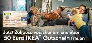 50€ IKEA-Gutschein ab 400€ Umsatz bei IKEA mit der IKEA Kreditkarte