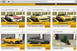 GTA Online 11 kostenlose Fahrzeuge (JETZT auch für PC/steam)
