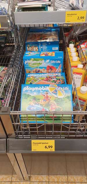 Aldi Süd - Playmobil Spielesets