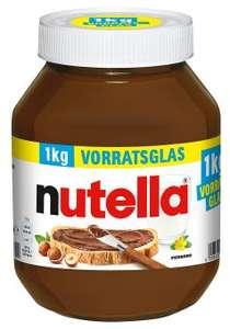 Nutella im 1kg Vorratsglas für 3,79€ bei [Aldi Süd]