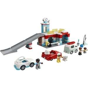 LEGO10948 DUPLO Parkhaus mit Autowaschanlage