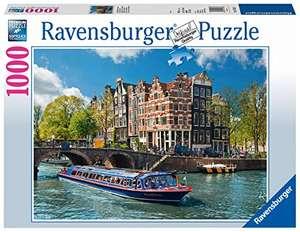 Ravensburger Grachtenfahrt in Amsterdam (1000 Teile) für 9,78€ (Amazon Prime)