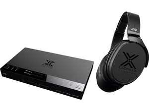 Wireless-Surround-Sound-Kopfhörer JVC XP-EXT1 (EXOFIELD Theater Kopfhörersystem - Klangbild mit bis zu 7.1.4 Kanälen)