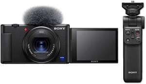 Sony ZV-1 Kompaktkamera + GP-VPT2BT Bluetooth Handgriff (Amazon.it)