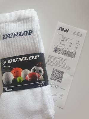 LOKAL BÖBLINGEN - 3er Pack Dunlop Tennissocken weiß