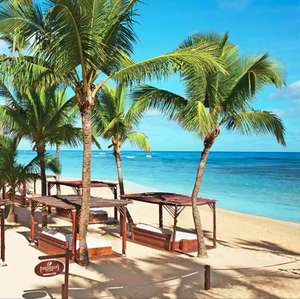 Dom. Rep.: 7 Nächte / 5*Dreams Punta Cana Resort & Spa / Deluxe-Swim-Out-Zimmer inkl. All Incl., 200 $ Guthaben, Transfer