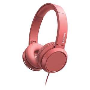 Philips TAH4105RD/00 On-Ear-Kopfhörer rot