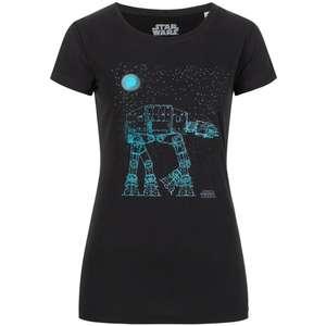 GOZOO Damen T-Shirt x Star Wars AT-AT für 3,33€ + 3,95€ VSK (100% Baumwolle, Größe S - L)