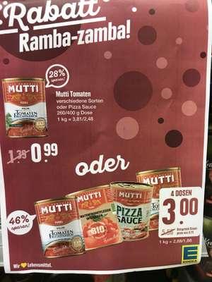 [Lokal] Mutti Dosen Tomaten - 4 Dosen für 75cent/stk