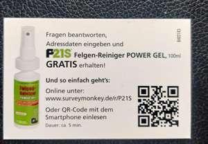 Gratis Dr. Wack P21S Felgen Reiniger POWER GEL 100 ml