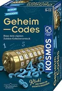 KOSMOS Geheim-Codes, Baue ein eigenes Zahlen-Geheimversteck, Codes knacken für 6,59€ (Amazon Prime & Saturn Abholung)