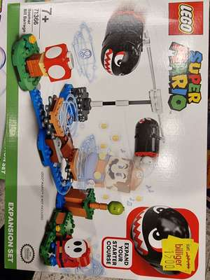 Lokal Famila Kiel LEGO® Super Mario 71366 Riesen-Kugelwillis – Erweiterungsset