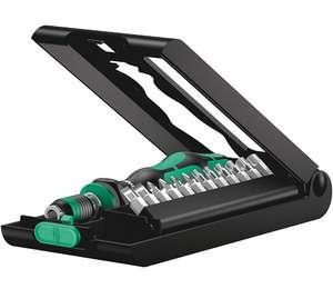 Wera 05056656001 Kraftform Kompakt 50, Handhalter mit Bit-Sortiment, 14-teilig (Prime)