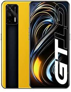 Realme GT Smartphone, Snapdragon 888 5G-Prozessor, 120Hz, 65W Charge, Dual SIM, 8+128GB (Amazon)