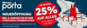 [Lokal Köln/Umgebung] 25% Rabatt auf das gesamte Sortiment - auch auf Ausstellungsstücke