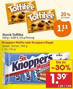 [tegut] Toffifee für 1.11€ mit 10€ Bahn eCoupon [Netto] MD Knoppers Riegel für 1.39€ [Kaufland] Knoppers Riegel für 1.29€ ab Mo.27.09.21