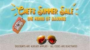Chefsflavours im Summer Sale mit bis zu 65% Rabatt