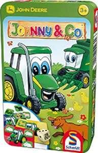 """Amazon Prime: Preis gesenkt von dem Kinderwürfelspiel """"Johnny &Co"""", ab 3 Jahren, in Metalldose ,für 2-4Spieler, von Schmidt Spiele"""