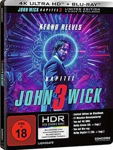 John Wick - Kapitel 3: 4K UHD Blu-ray und Blu-ray im Steelbook für 16,97€ (Amazon Prime)