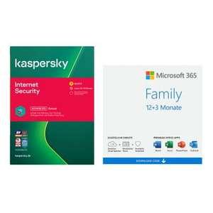 NBB-Wochenangebot Microsoft 365 Family + AV-Suite   3,45€ je Monat.