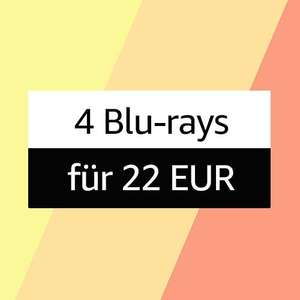 4 Blu-rays für 22€ vom 02 Aug. 2021 bis 15 Aug. 2021 (Amazon)