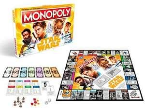 Hasbro Monopoly Solo - A Star Wars Story, Familienspiel, ab 8 Jahren, 2-4 Spieler | Monopoly Millennials 10,50€ [Amazon Prime]