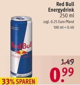 Rossmann & Müller: Red Bull Energy ab 0,88€