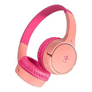 Belkin SoundForm Mini drahtloser Kinder On-Ear-Kopfhörer / pink / max. 85dB zum Schutz der Kinderohren / 28-30 Std. Laufzeit