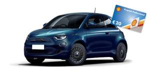 AutoAbo / Leasing Alternative inkl. Versicherung / Fiat 500 E Icon E-Auto / 13M 259€ p.M. /13k km // 0€ Haustürlieferung/20€ Shell Gutschein